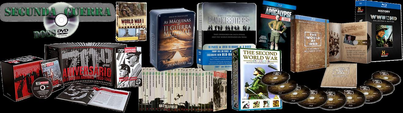 Segunda Guerra Docs DVD