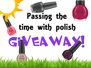 passing the time with polish giveaway