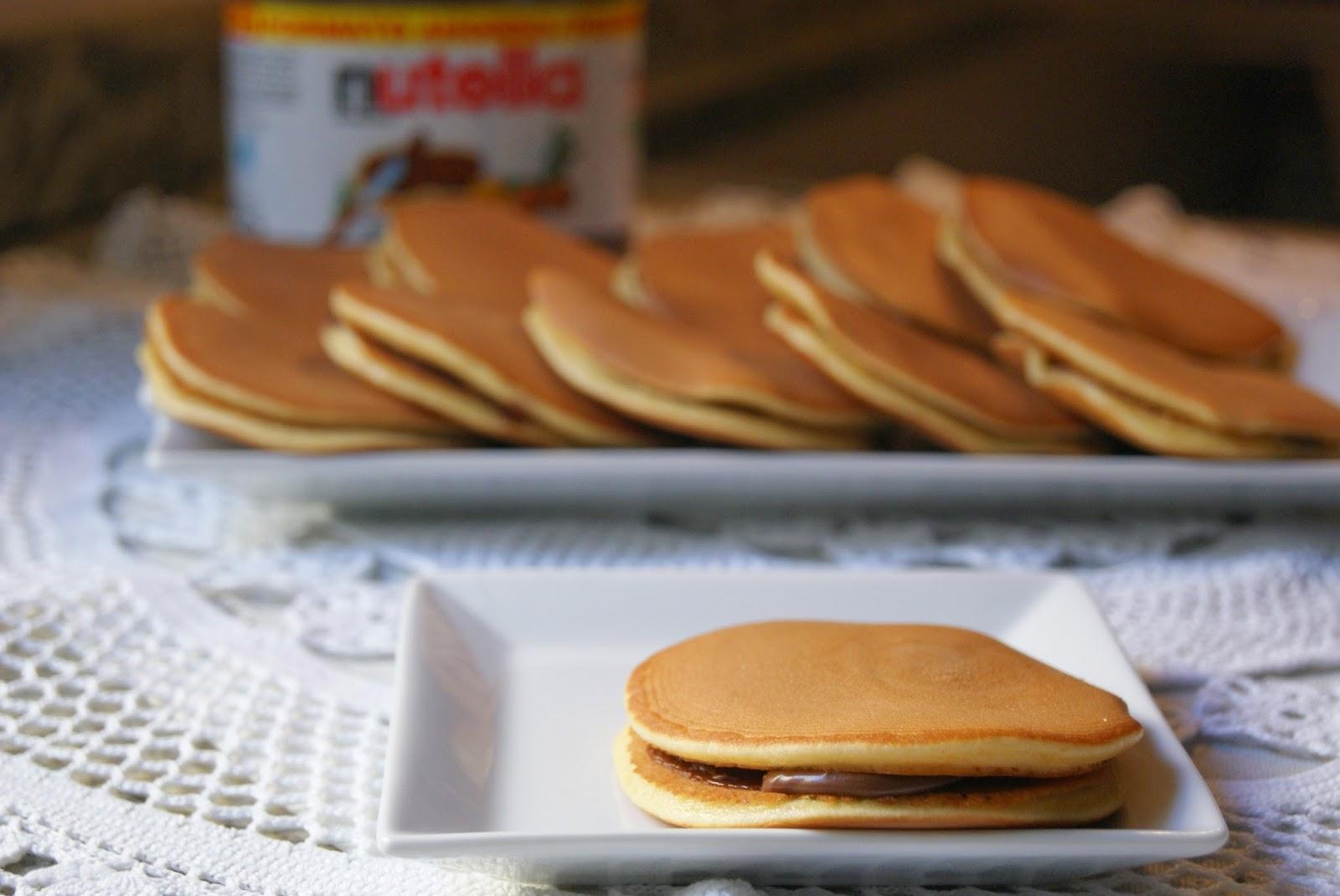 DORAYAKIS, los pastelitos de Doraemon