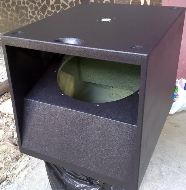 18 inch single subwoofer box design 18 free engine image for Ukuran box salon 8 inch