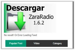 Descargar e Instalar Zara Radio