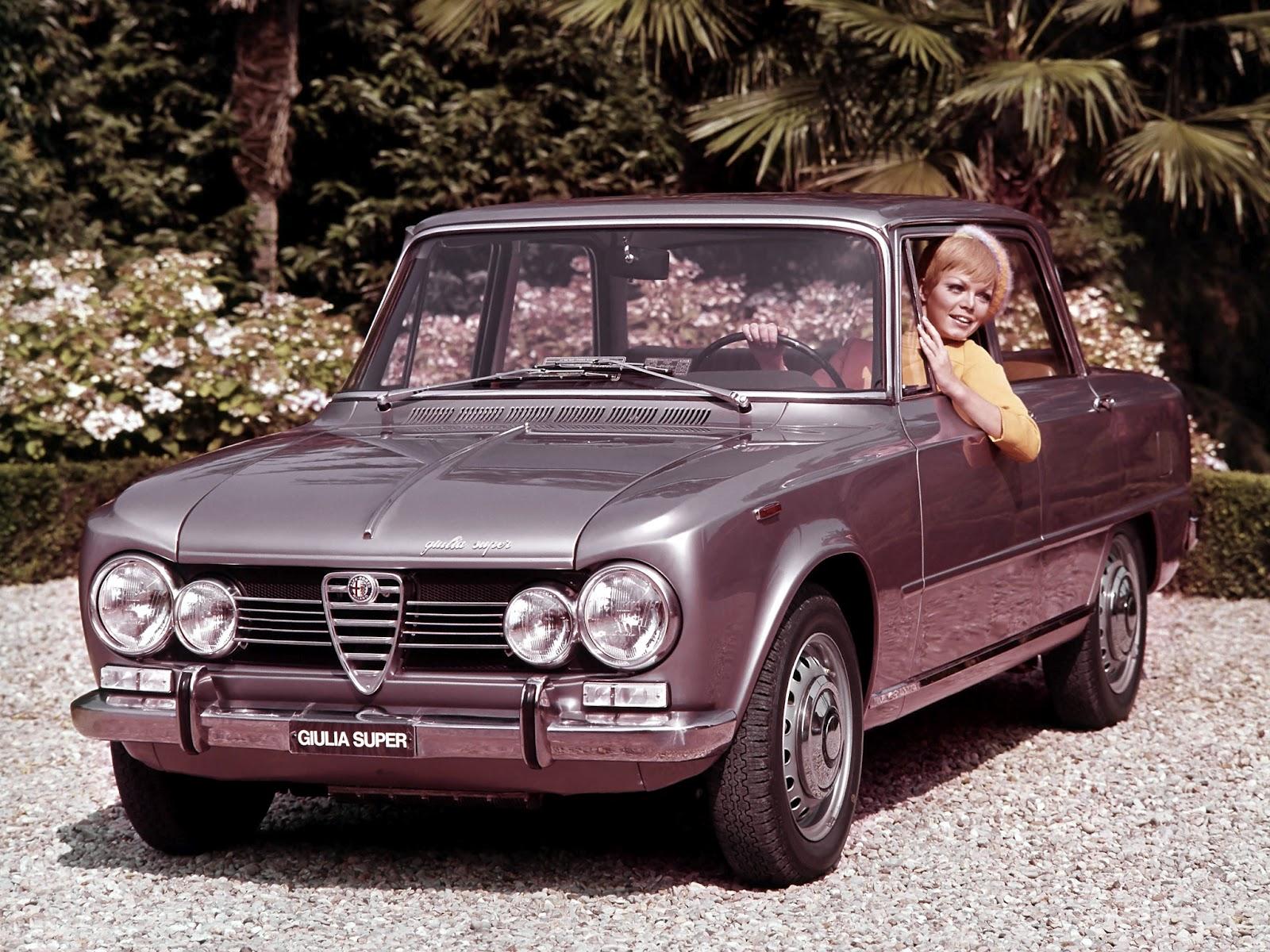 retro cars alfa romeo giulia super 105 39 1967 74. Black Bedroom Furniture Sets. Home Design Ideas