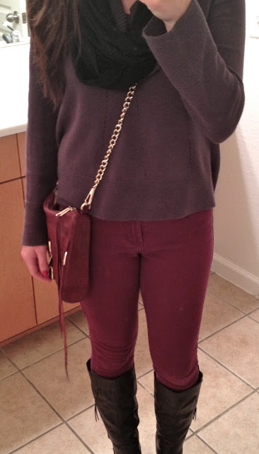 Simple Easy Style: Colored Skinny Jeans