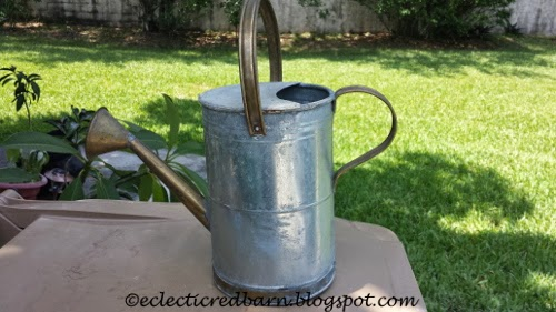 Eclectic Red Barn: Watering Can
