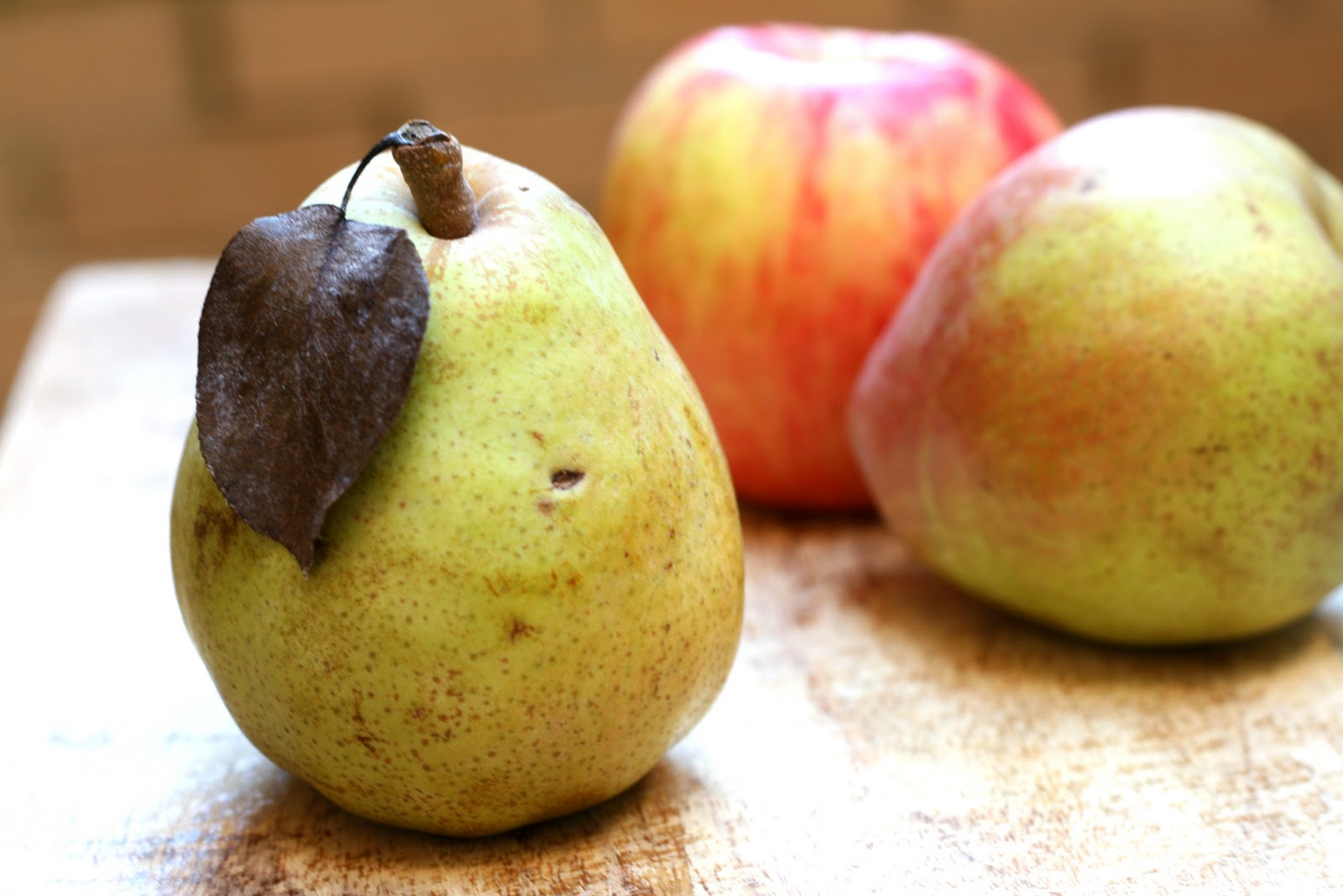 So, clearly, you need pears. And in case you lack basic observation ...