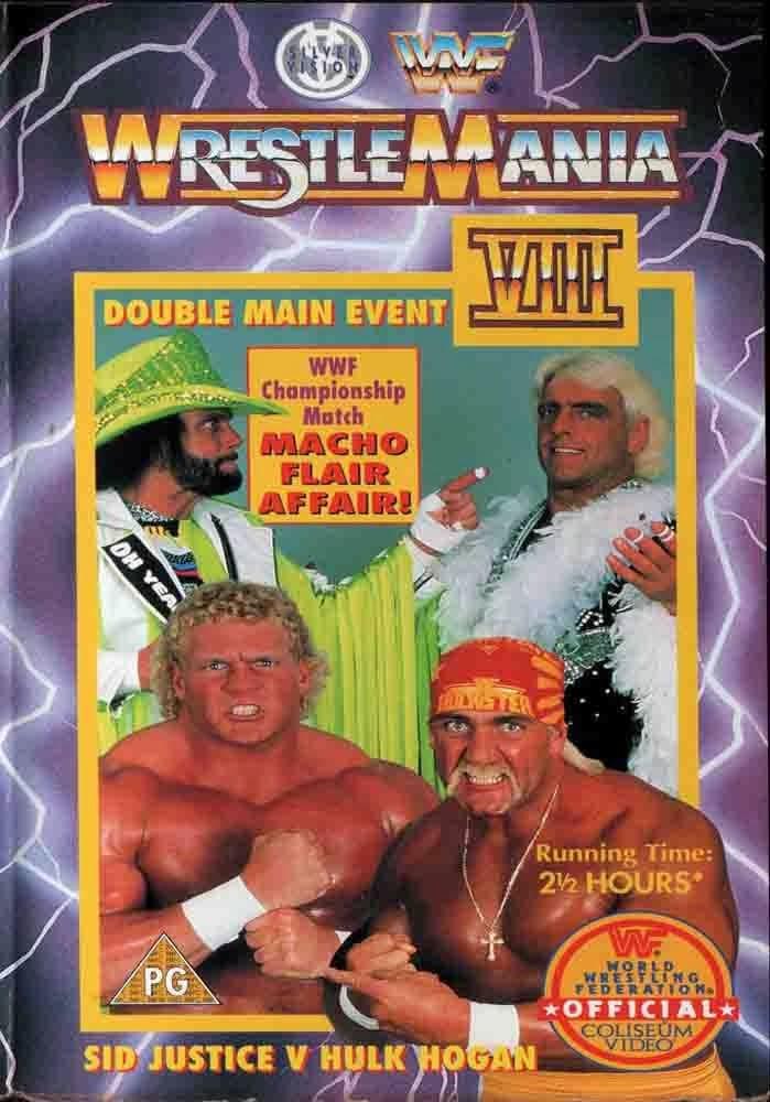 WWF / WWE - 1992 Wrestlemania 8