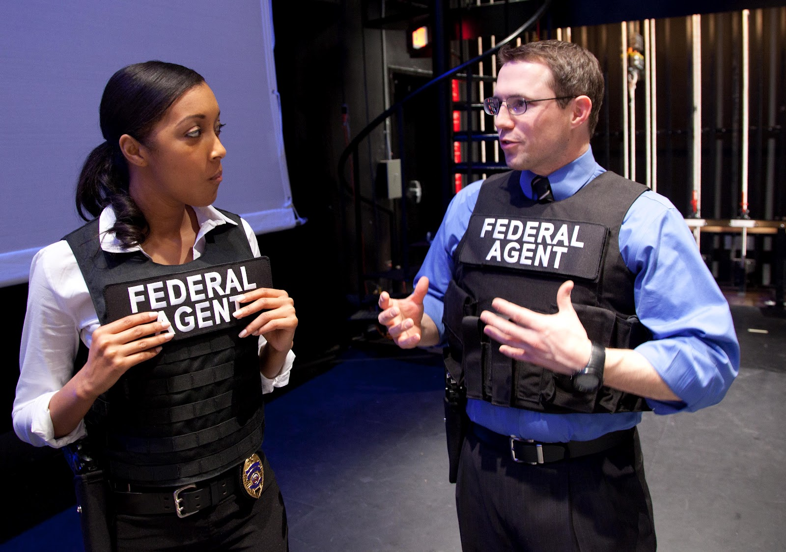 Real Fbi Agent Pretty dam fly in real fbiReal Fbi Agent