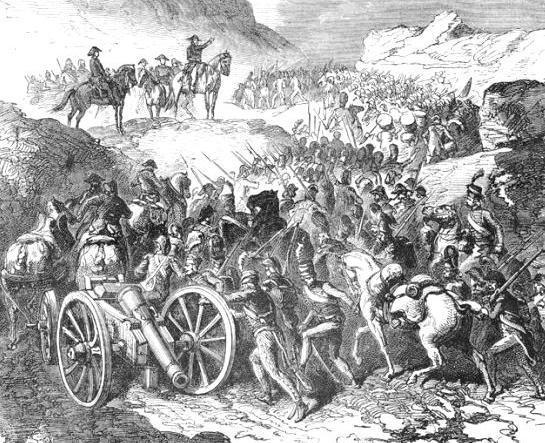 Dibujo de la batallade pinchicha - Imagui
