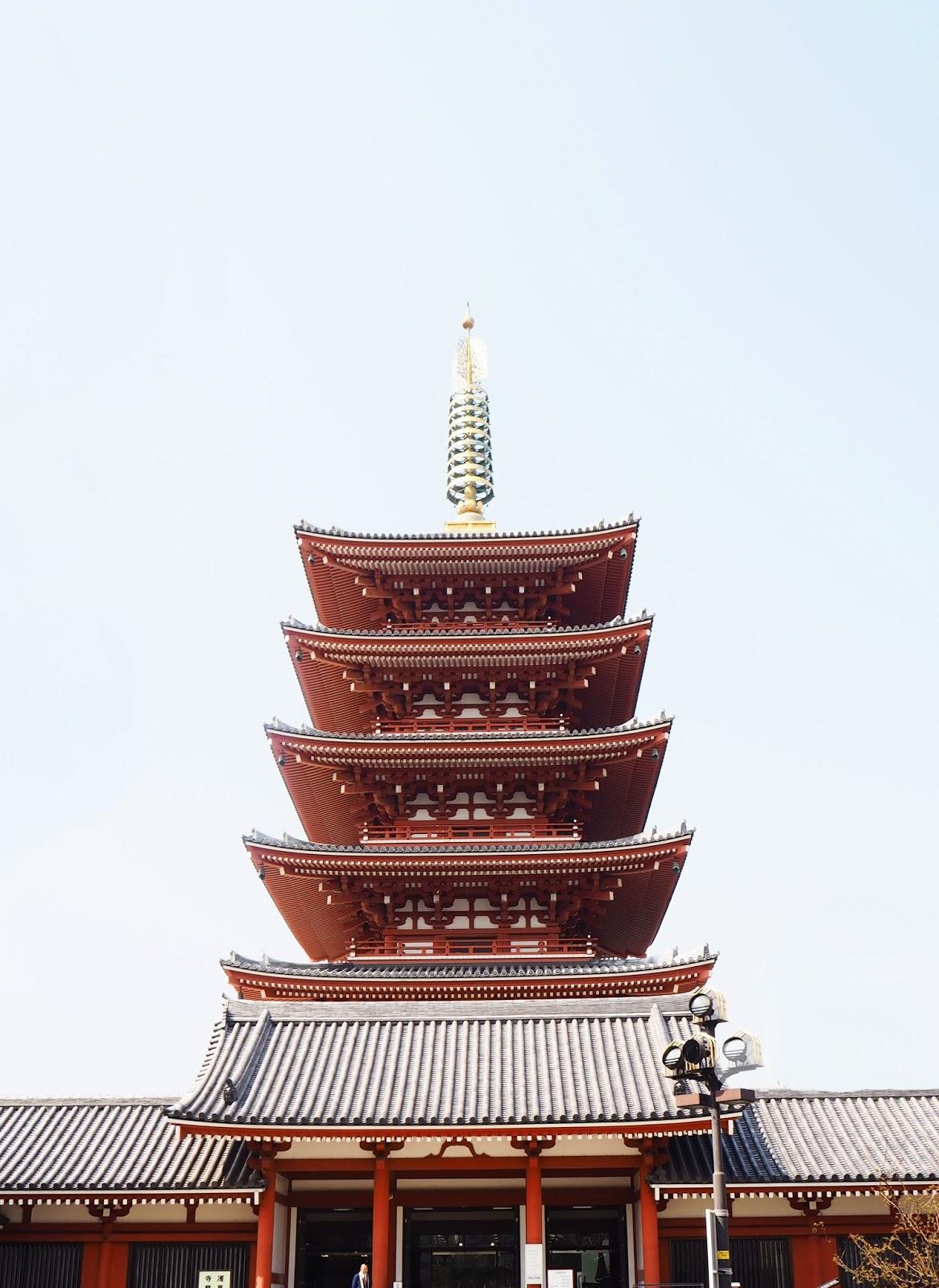 Asakusa Senso-Ji Buddhist Temple