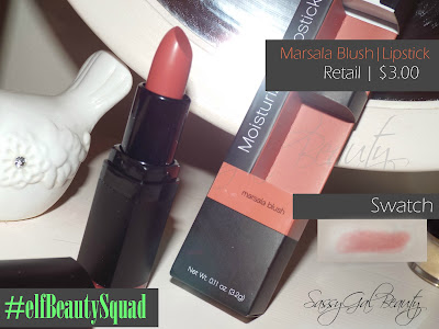 Moisturizing Lipstick in Marsala Blush | $3