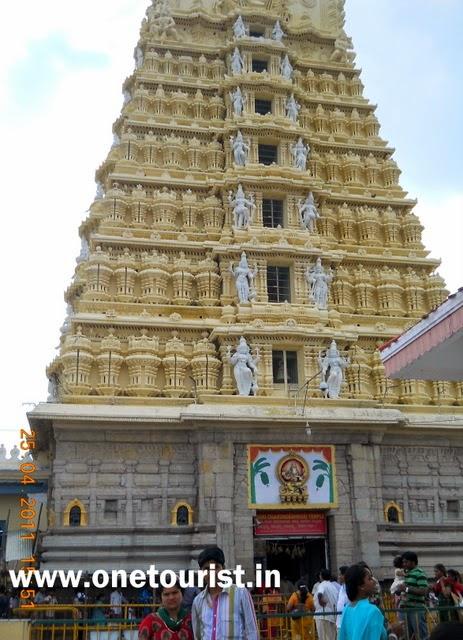 chamunda devi maa temple , mysore ,chamundi hill