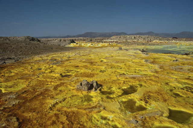 Photograph of Danakil Depression in Afar, Ethiopia by Ethiopian photographer Michael Tsegaye