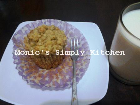 Banana Oatmeal Muffin Praktis dan Mudah dibuat
