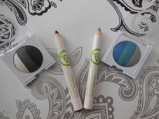 Mary Kay eye crayons and eyeshadow trios