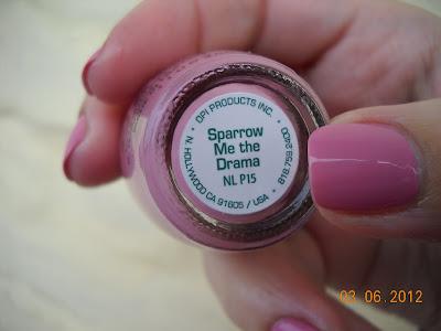 opi sparrow me the drama nails uñas esmaltes nail polish pirates of the caribbean