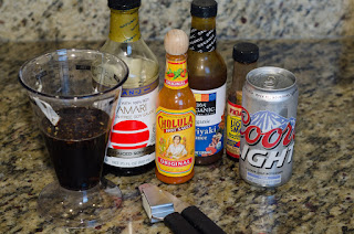 Spicy Garlic Beef Jerky - Marinade Ingredients
