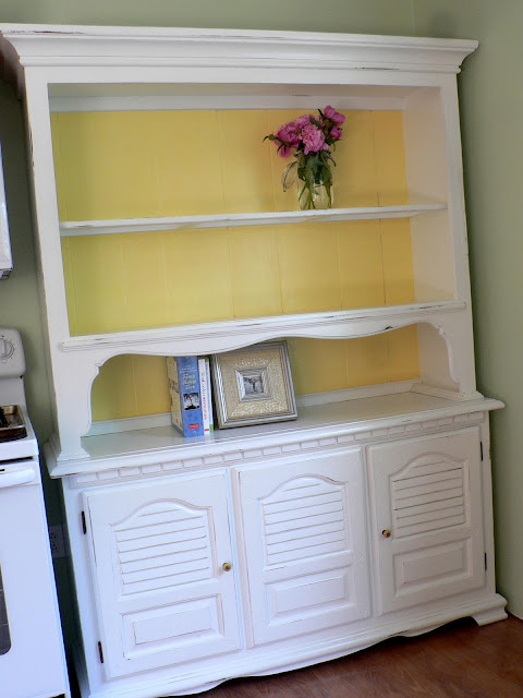 Paint Furniture - Finished Hutch