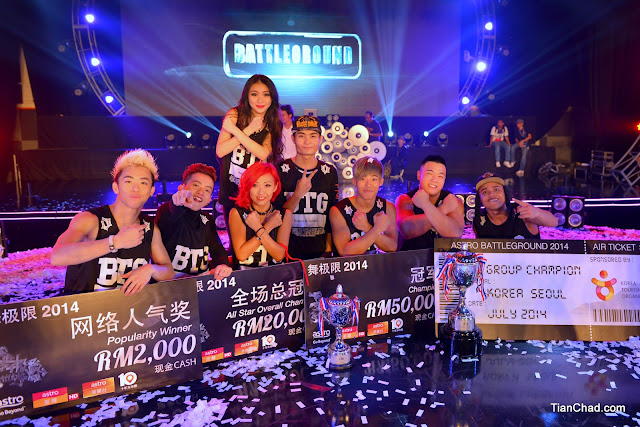 Astro Battleground 2014 Winners
