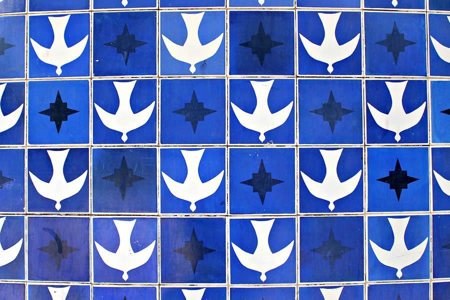 Kezia talisin arquitetura moderna brasileira athos bulc o for Azulejos df