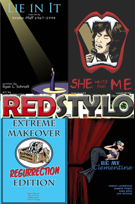 Red Stylo Media comics