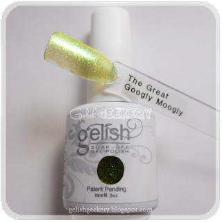 Gelish Swatch The Great Google Moogly