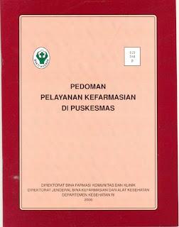 Book Standar Pelayanan Kefarmasian di Puskesmas
