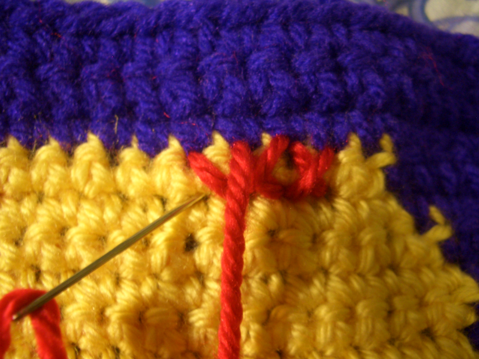 Do The Next Row Of Stitches The Same Way