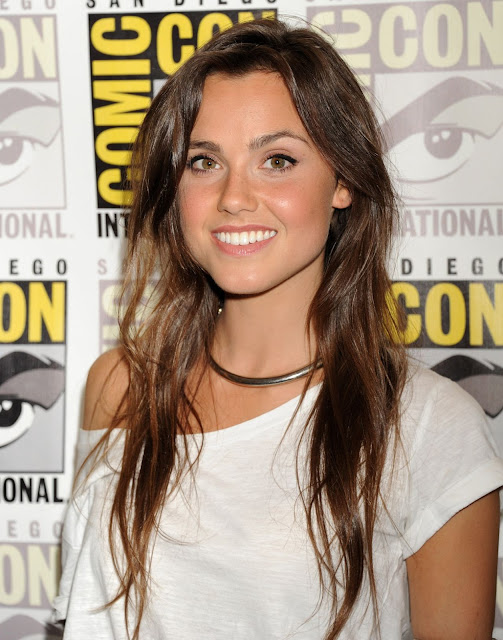 Actress, @ Poppy Drayton - The Shannara Chronicles press room at Comic-Con International in San Diego