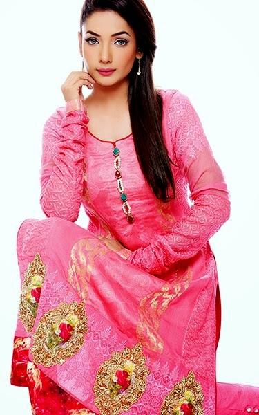 Zahra Ahmad Luxury Pret 2014-2015