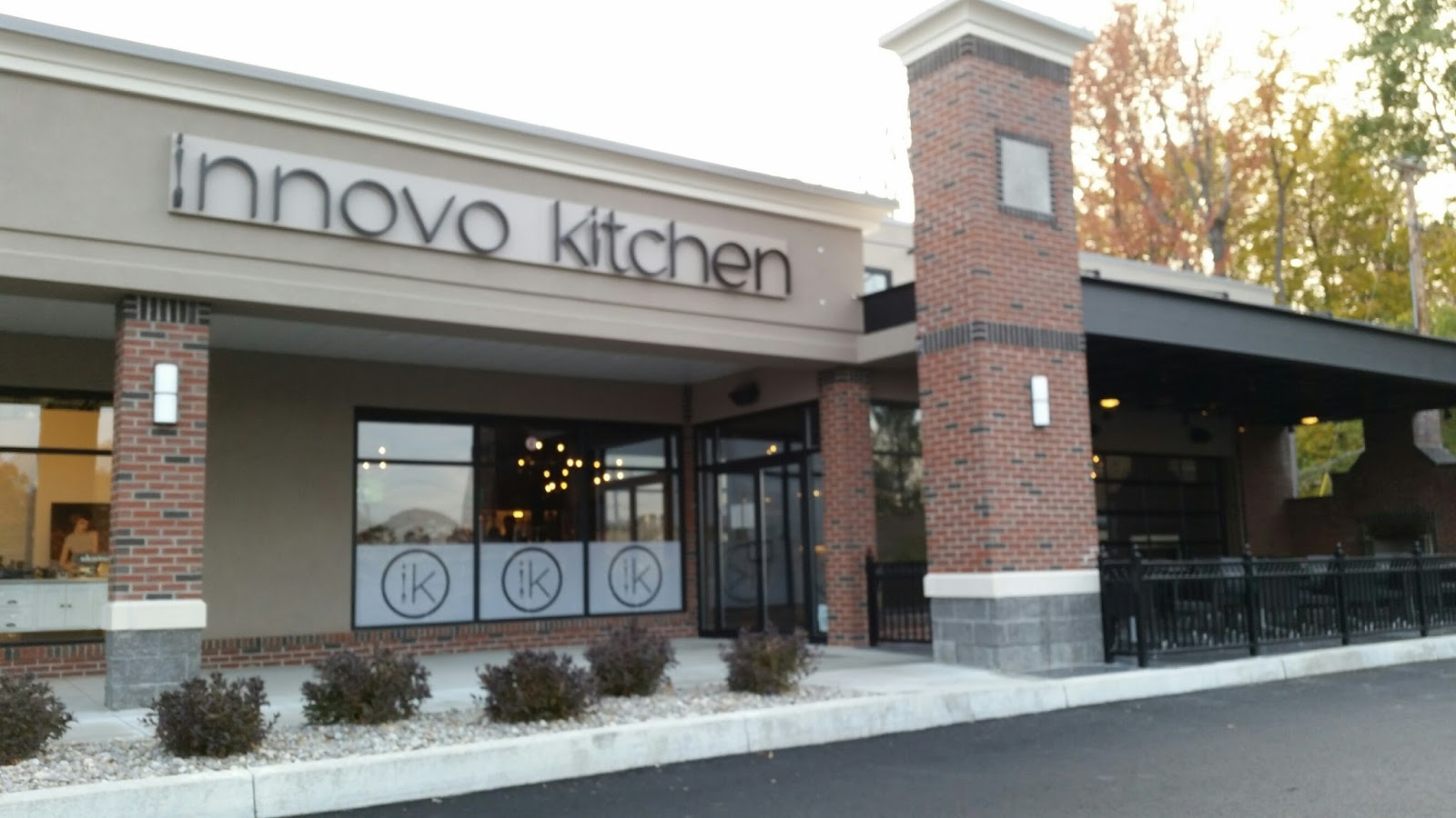 innovo kitchen is at front of a new strip mall where there used to be a bowling alley - Innovo Kitchen