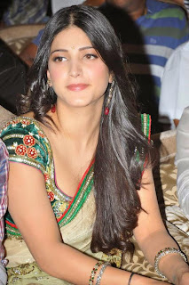 Shruti Hassan Saree Image