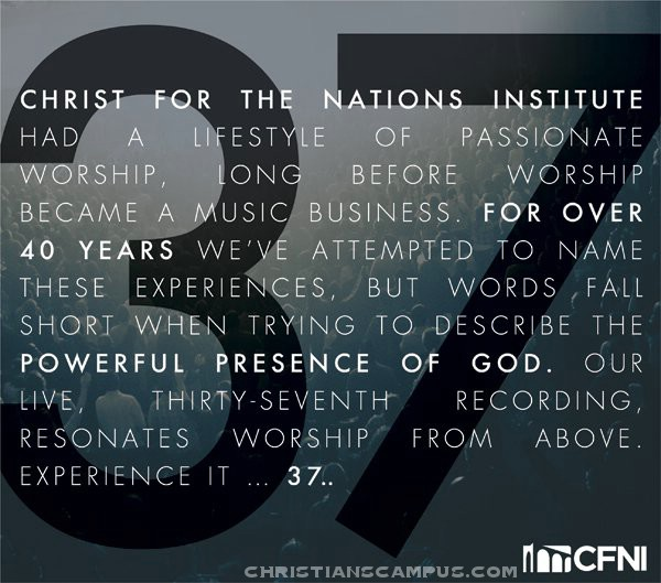 37 - Christ For The Nations Worship 2011 English Christian Album Download