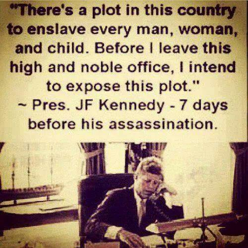 JFK was a visionery
