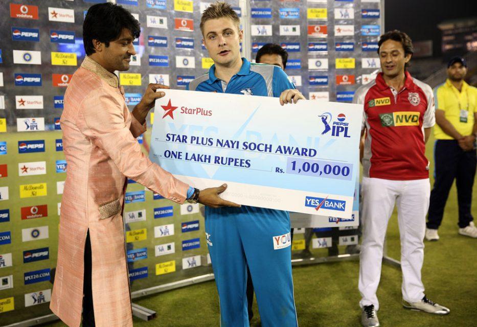 Luke-Wright-Nayi-Soch-Award-KXIP-vs-PWI-IPL-2013