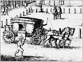 Hackney coach 1646