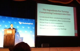 How To Build WOM From Complaining Customers - MarketingProfs B2B Forum 2011