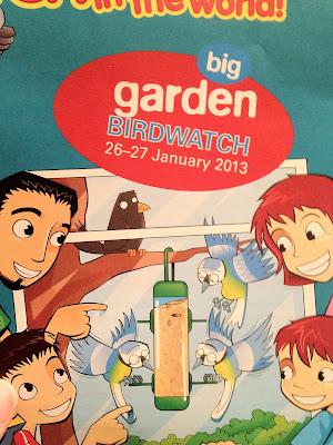 RSPB Garden Birdwatch