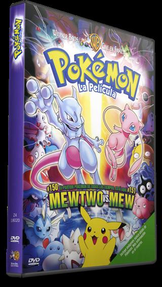 Pokemón Mewtwo Contraataca DVDRip Latino