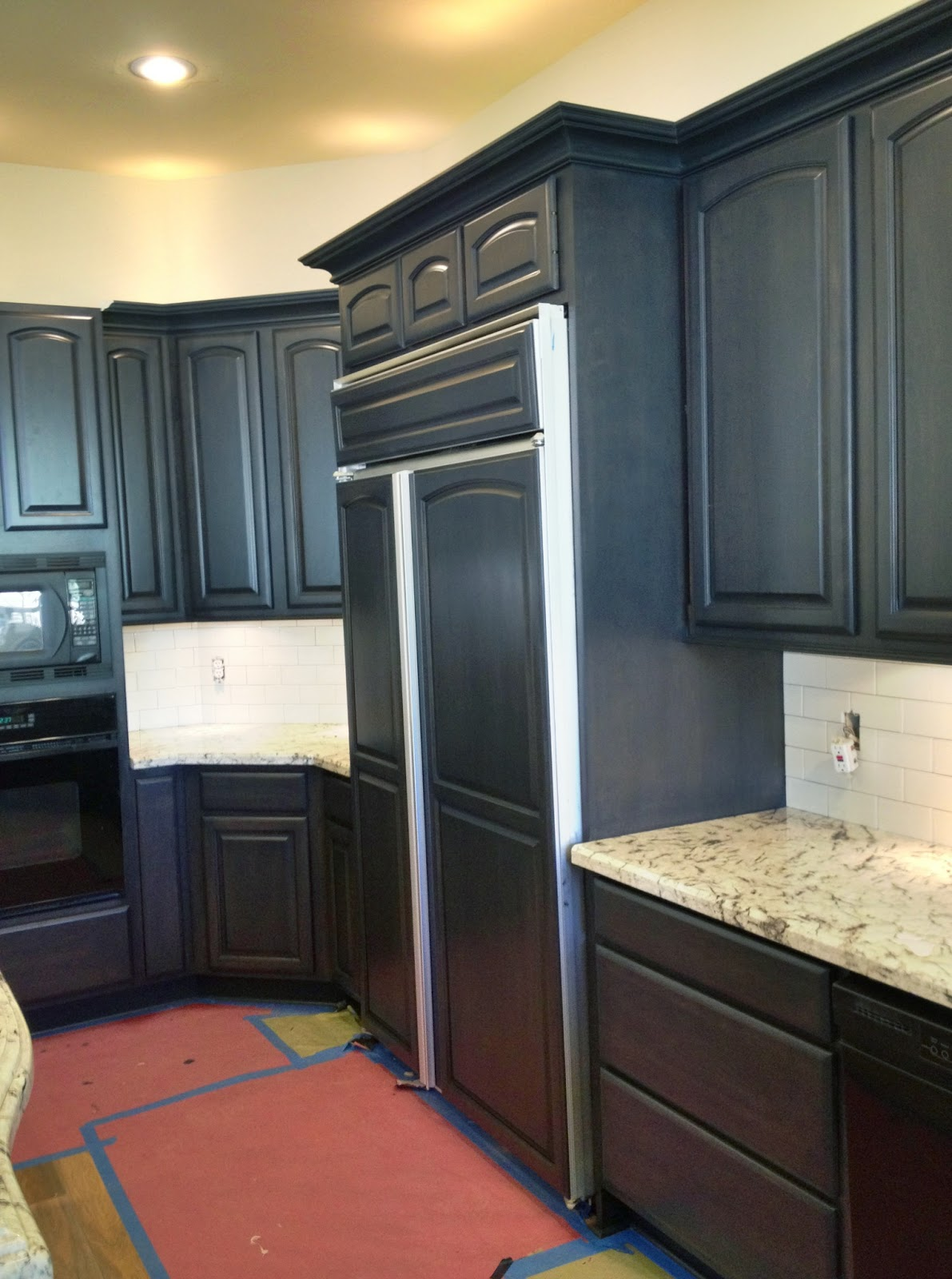 How To Refinish Kitchen Cabinets Without Stripping Ideas Audreycouture - How to refinish kitchen cabinets without stripping