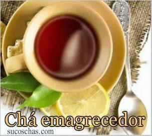 Chá emagrecedor de hibisco e limão