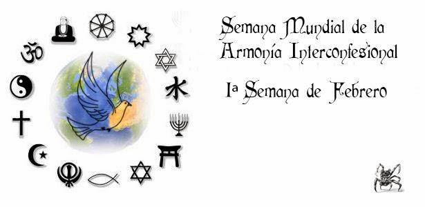 Semana mundial de la armonía interconfesional