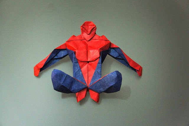Origami Spider Man Easy Origami Instructions For Kids Crafts