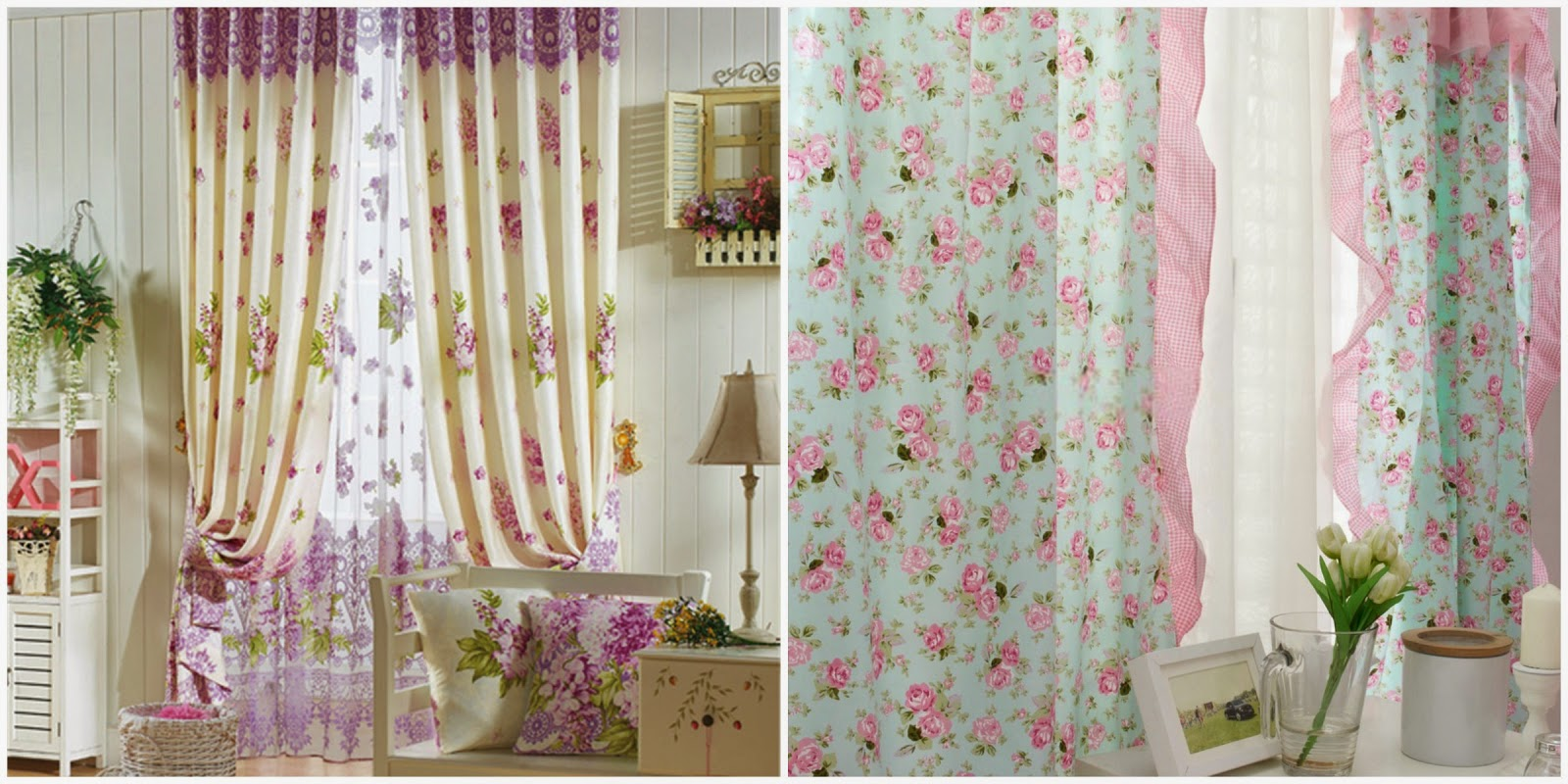 Blog and coffee redecora tu habitaci n con curtains market for Cortinas estampadas modernas