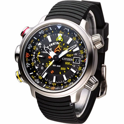 CITIZEN PROMASTER LAND ALTICHRON BN4021-02E