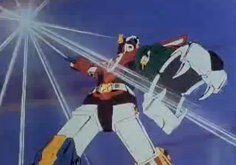 Iconic Lion Force Voltron Defender of the Universe super robot of the 80's
