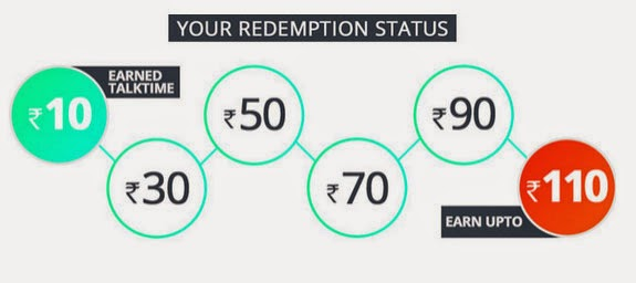 gaana rs 10 free recharge offer