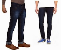 Buy Stylish Men's Denim Jeans at 50% off + 25% cashback at Paytm.