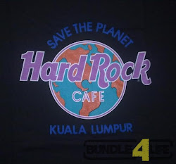 Vtg 90s Hard Rock Cafe KL