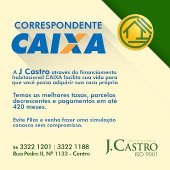CAIXA AQUI - JCASTRO ADMINISTRAÇÃO DE IMÓVEIS