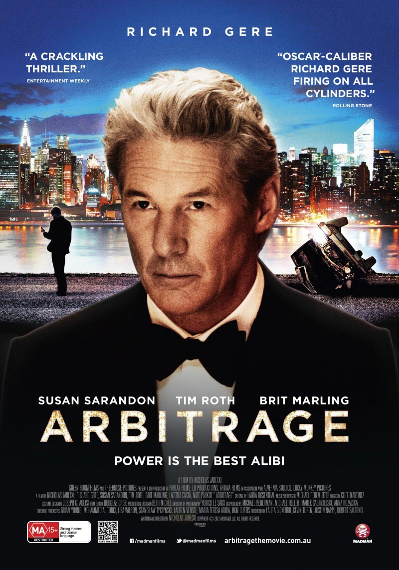 Watch Arbitrage Movie Online Free 2012